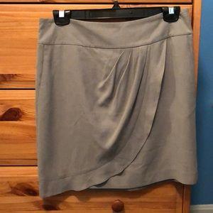LOFT polyester dress skirt